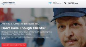 Website Design - Plumbers Website