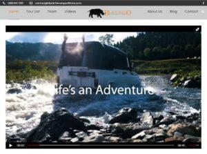 Website Design and Development - Black Rhino Expeditions website